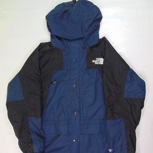 Vintage North Face Mountain Rain Jacket Blue Gore Tex 90s